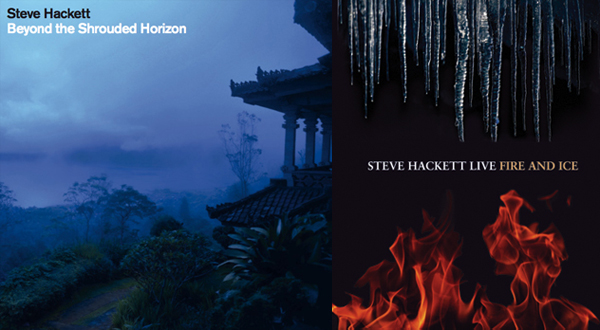 Steve's album - Beyond the Shrouded Horizon & Live DVD - Fire and Ice