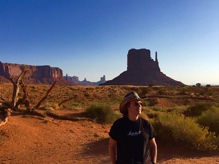 Steve in Monument Valley (Arizona)