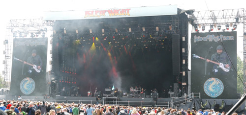 The Steve Hackett Band at the Isle of Wight Festival