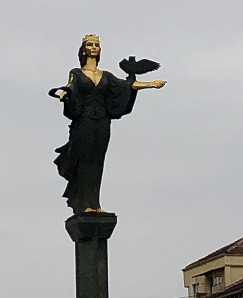 Statue of St Sophia