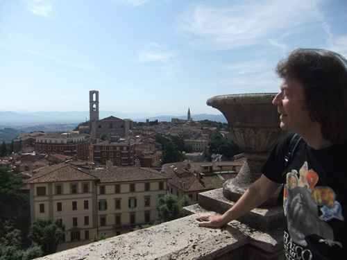 Steve and Perugia vista
