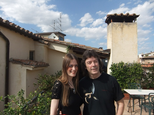 Jo and Steve in Perugia