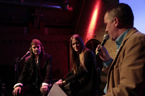 Berlin album launch event - Steve, Jo and Christian Gerhardts