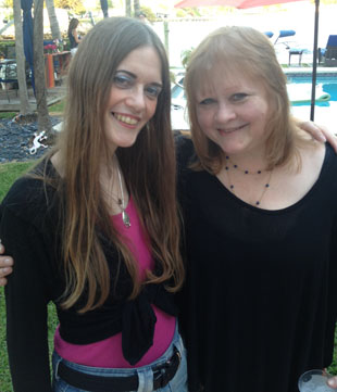 Jo with Cheryl Gallo
