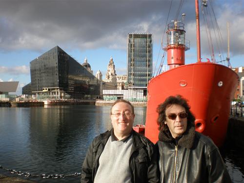 Alan and Steve, Albert Docks