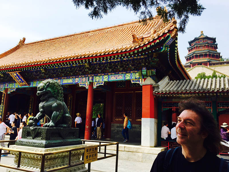 Steve at the Summer Palace