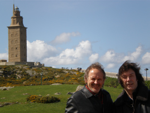 Wolfgang, Steve and the Tower of Hercules