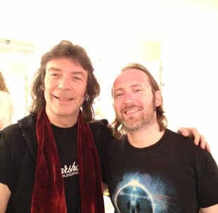 Steve with Simon Collins