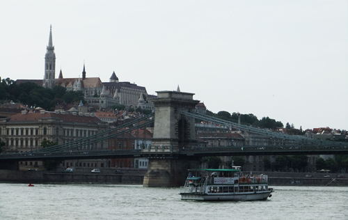 Budapest from the boat