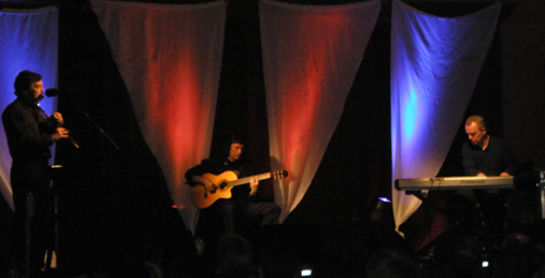 Acoustic Trio at Steve Hackett Event in Werenzhouse