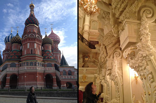 Exotic St Basil's Cathedral, Moscow | A palatial interior, St Petersburg