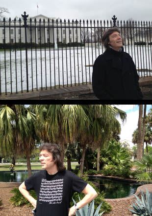 All weathers - from White House in the snow to enjoying Florida sunshine in Orlando