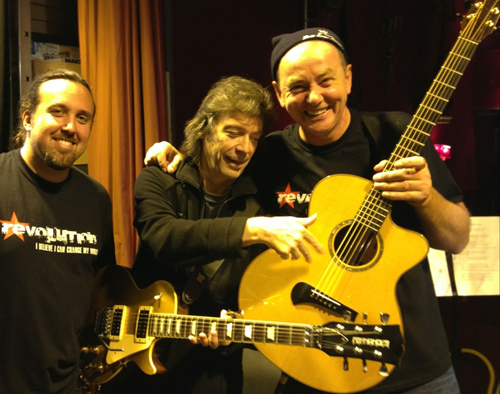 Steve, Dave Kerzner and Francis Dunnery