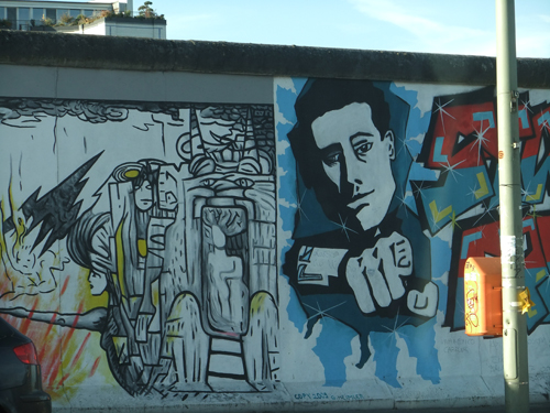 East Side Gallery murals, Berlin