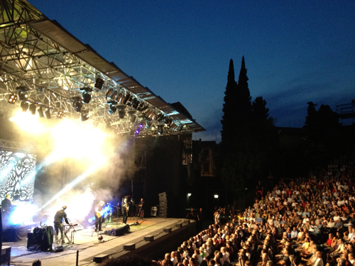 The show in atmospheric Verona