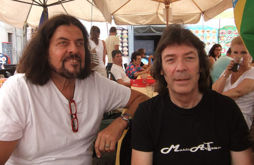 Steve with Alan Parsons