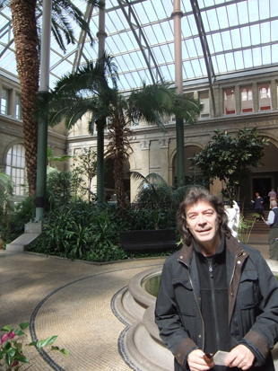 Steve in the Glyptotek, Copenhagen