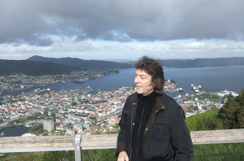 Enjoying the vista, Bergen
