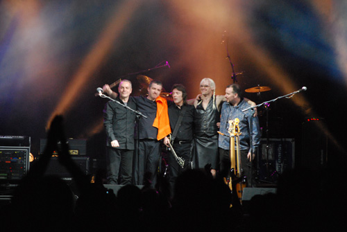 Steve Hackett Band in Italy March 2009
