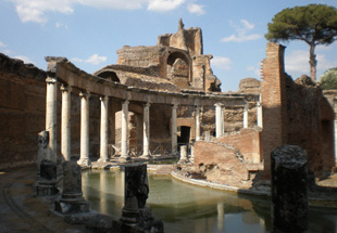 The inner sanctum of Hadrian's villa