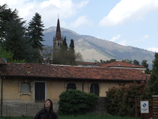 Steve in picturesque Schio