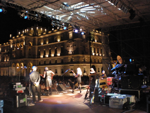 Gig in the piazza, Trieste