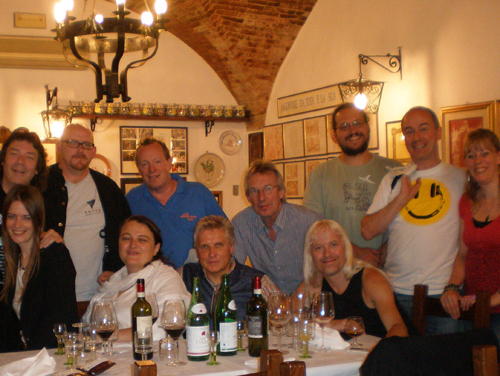 Celebrating in Todi