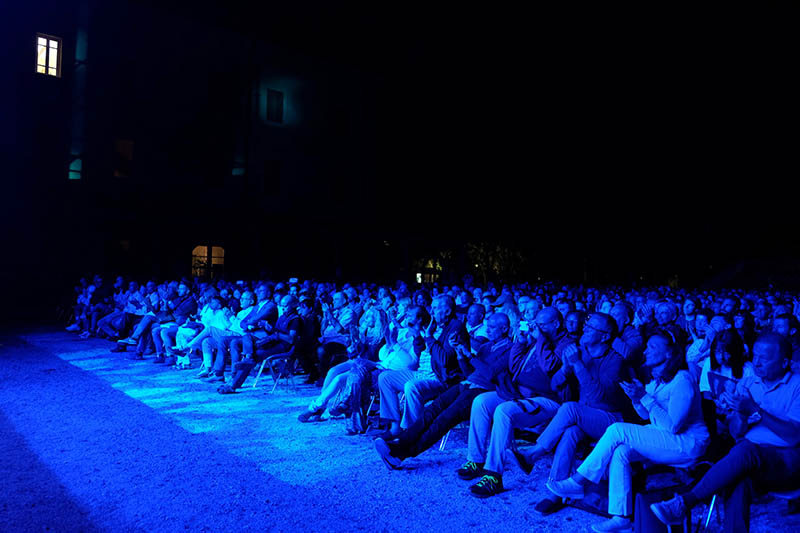 The audience at Forte Dei Marmi