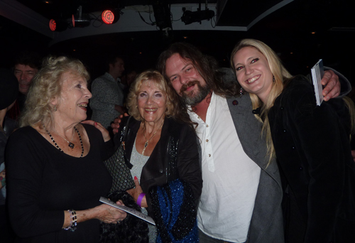 Steve's Aunt Betty and Mum June with Bryan Josh and Olivia Sparnenn