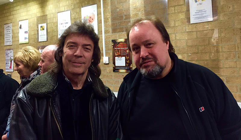 Steve with Steve Rothery at CRS Awards