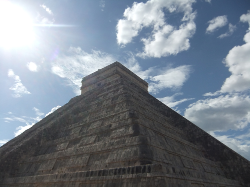 Chichen Itza - Touching the skies