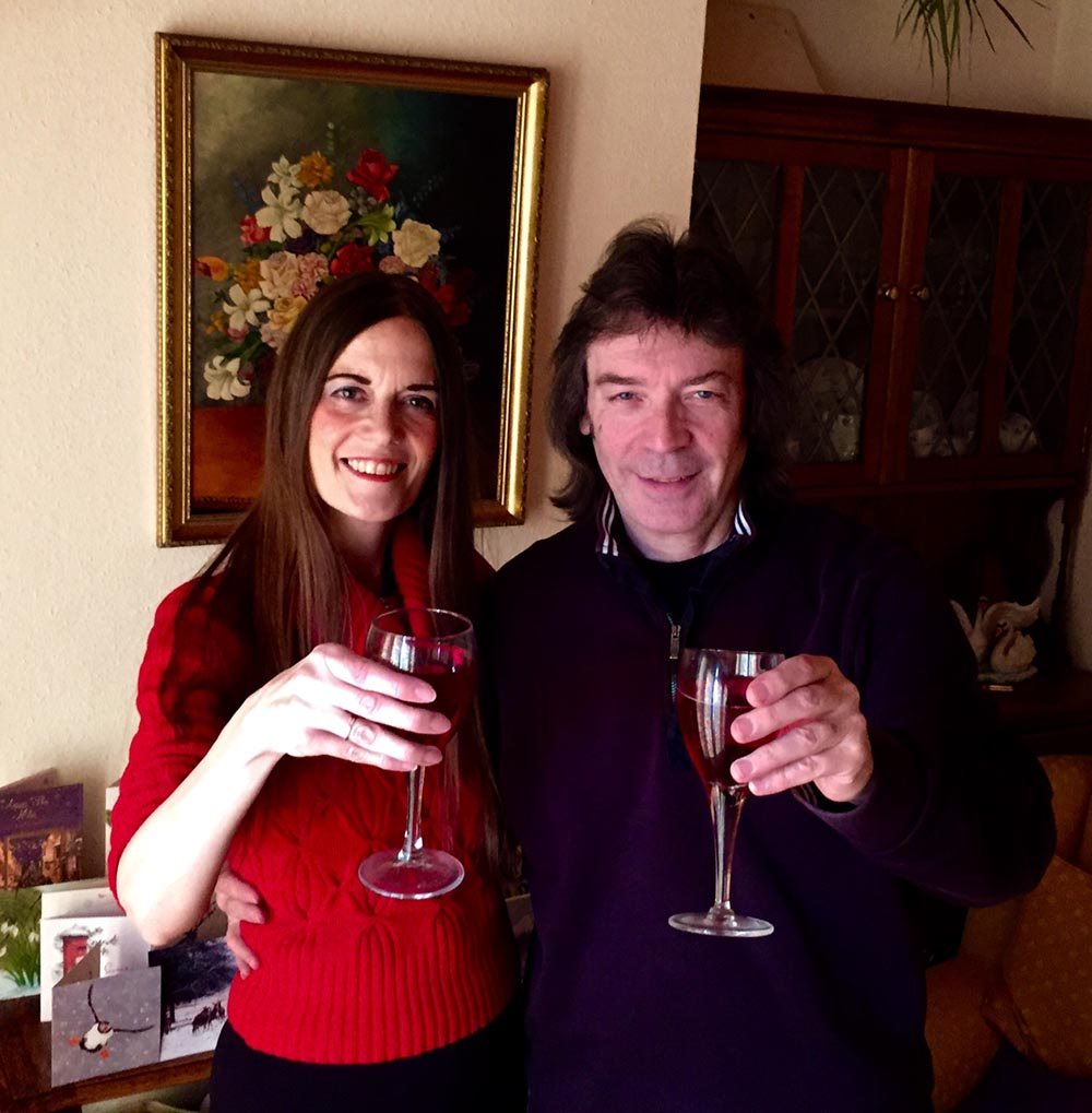 Wishing all a very Happy New Year from Jo and me