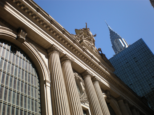 Central Station meets the Chrysler Building
