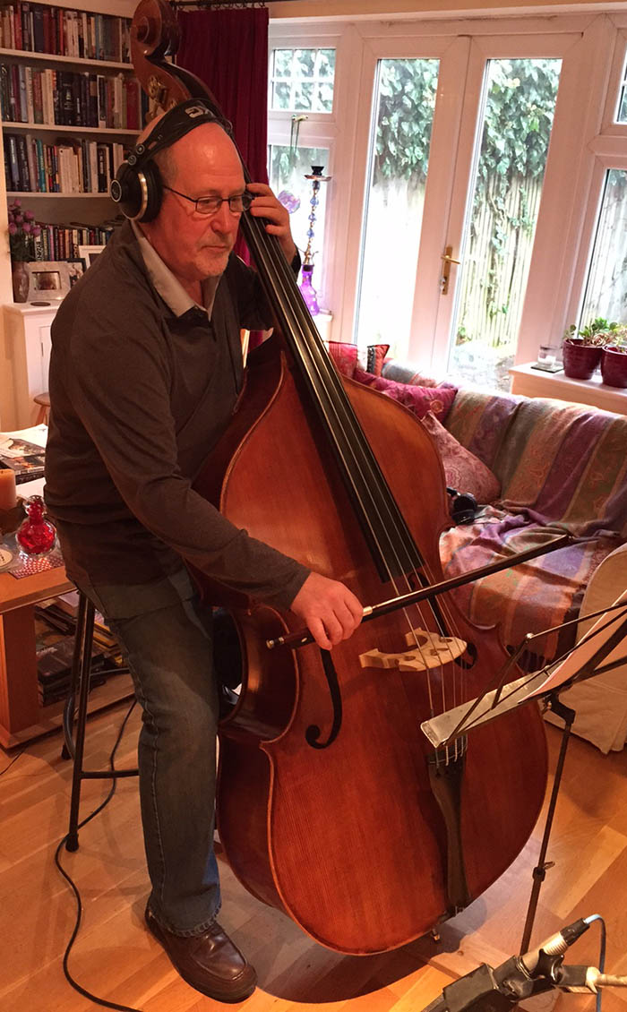 Dick Driver on double bass