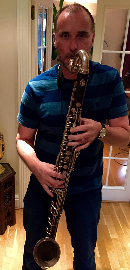 Rob Townsend on bass clarinet