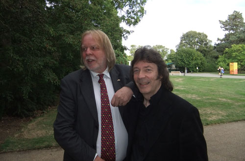 Steve and Rick Wakeman