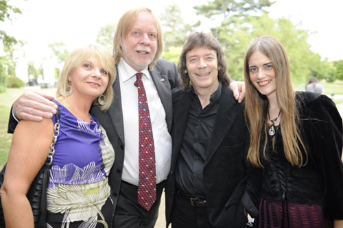 Sharon Chevin, Rick Wakeman, Steve and Jo
