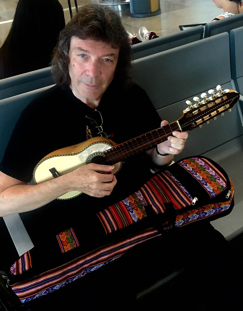 Steve playing the Charango