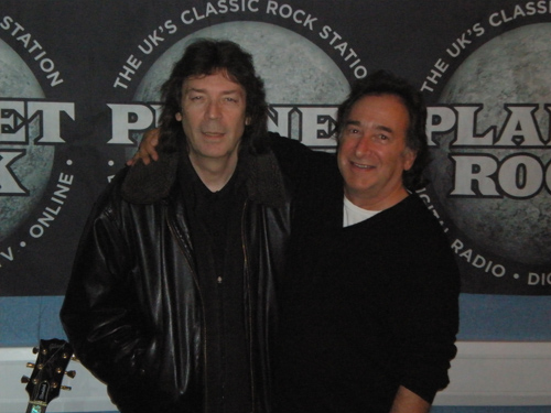 Steve with Nicky Horne of Planet Rock