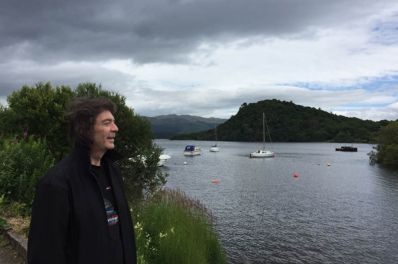 On the shores of Loch Lomond