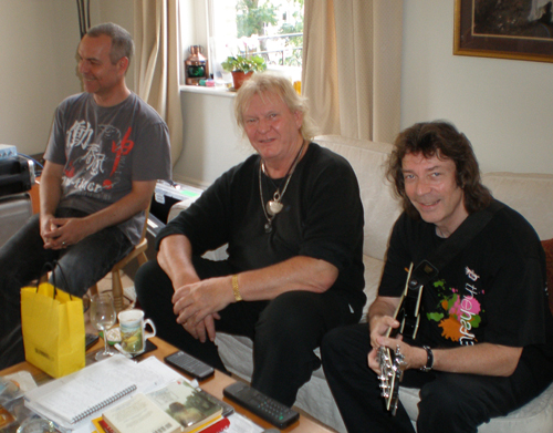 Roger, Chris and Steve