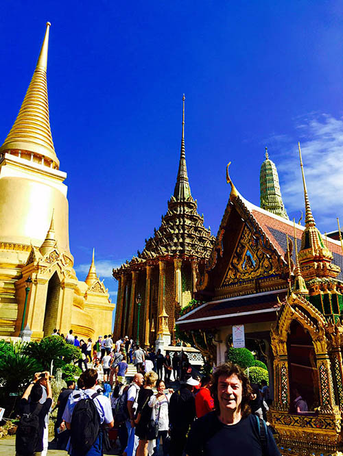 Colourful Royal Palace temple complex, Bangkok