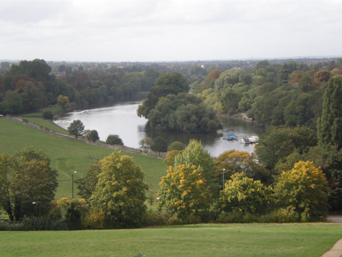 View of the Thames from Richmond Hill