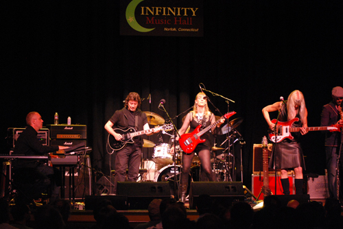 Show at Infinity Hall, Norfolk CT