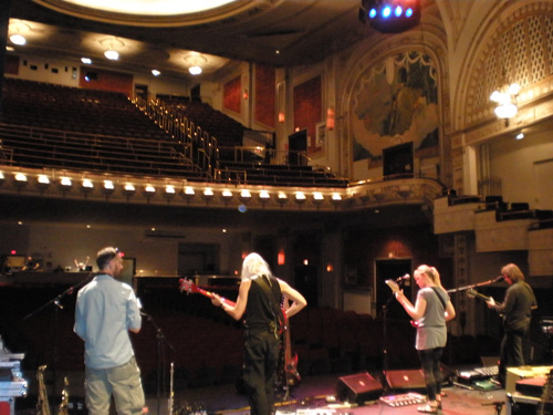Soundcheck Greensburg Palace Theatre