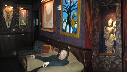 Deities, spooks and spirits in The House of Blues, Cleveland
