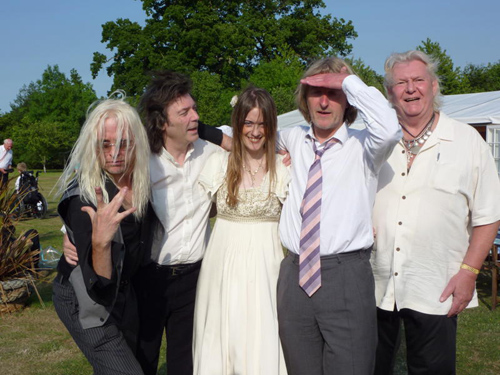 Nick Beggs, Steve Hackett, Jo Hackett, Anthony Philips & Chris Squire