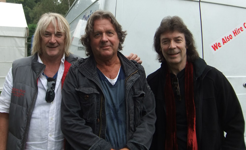 Geoff Downes, John Wetton and Steve