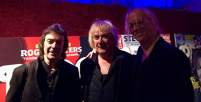 Steve with Geoff Downes & Nick Beggs