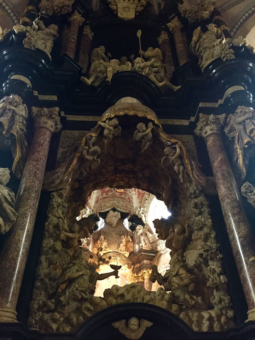Image of Heaven in cathedral, Trier
